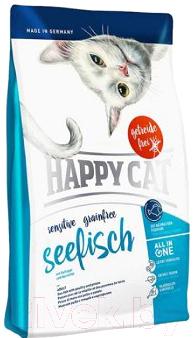 Корм для кошек Happy Cat Sensitive Grainfree Seefisch / 70262 (1.4кг)