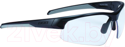 Очки солнцезащитные BBB Impress / BSG-60D (матовый черный/прозрачные линзы)