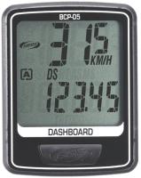 Велокомпьютер BBB DashBoard / BCP-05 (черный/серебристый) -