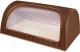 Хлебница Эльфпласт Elegance EP436 (коричневый) -