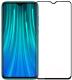 Защитное стекло для телефона Case Full Glue для Redmi Note 8 Pro (черный глянец) -