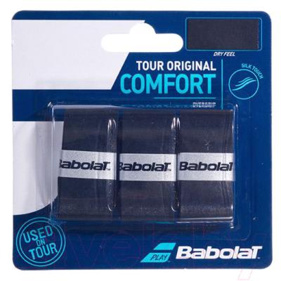 Овергрип Babolat Tour Original X3 / 653047-105 (3шт, черный)