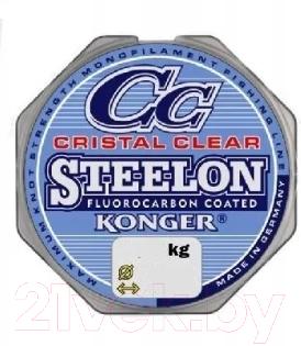 Леска монофильная Konger Steelon Crictal Clear Fluorocarbon 0.18мм 150м / 239150018