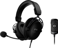 Наушники-гарнитура HyperX Cloud Alpha S Blackout (HX-HSCAS-BK/WW) -