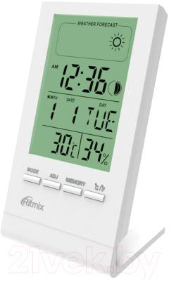 Метеостанция цифровая Ritmix CAT-040 (белый)