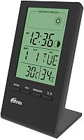 Метеостанция цифровая Ritmix CAT-040 (черный) -