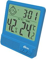 Метеостанция цифровая Ritmix CAT-052 (синий) -