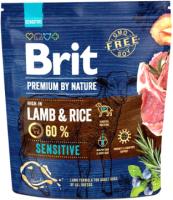 Корм для собак Brit Premium By Nature Sensitive Lamb & Rice / 526611 (1кг) -