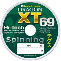 Леска монофильная Dragon XT 69 Spinning 0.25мм 125м / 33-20-325 -