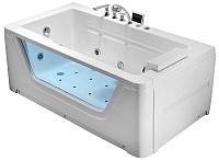 Ванна акриловая Gemy G9225 K 172x91 (с гидромассажем) -