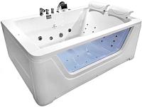Ванна акриловая Gemy G9226 K 172x121 (с гидромассажем) -
