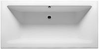 Ванна акриловая Riho Lugo Velvet 170x75 / BT01105 (с ножками) -