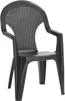 Стул пластиковый Keter Santana Chair / 219377 (графит) -