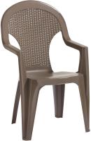 Стул пластиковый Keter Santana Chair / 219375 (капучино) -
