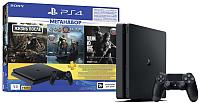 Игровая приставка Sony PlayStation 4 1TB + DG/GOW/TLOU / PS719350002 (с подпиской на 3 мес) -