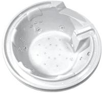 Ванна акриловая Gemy G9090 K 190x190 (с гидромассажем) -