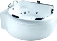 Ванна акриловая Gemy G9088 K 185x185 (с гидромассажем) -