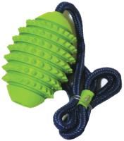 Игрушка для животных Rosewood Мяч регби игольчатый на веревке / 20065/RW -