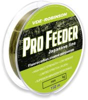 Леска флюорокарбоновая Robinson VDE-R Pro Feeder 0.245мм 150м / 55-AF-245 -