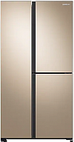 Холодильник с морозильником Samsung RS63R5571F8/WT -