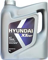 Моторное масло Hyundai XTeer 4T 10W40 / 1041016 (4л) -