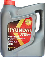 Моторное масло Hyundai XTeer Gasoline Ultra Efficiency 0W20 / 1041121 (4л) -