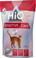 Корм для кошек HiQ Sensitive Care / 45920 (400г) -