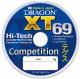 Леска монофильная Dragon XT 69 Hi-Tech Competition 0.18мм 125м / 33-20-018 -