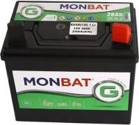 Автомобильный аккумулятор Monbat KU44U1X0_1 (28 А/ч) -