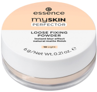 Фиксирующая пудра для лица Essence My Skin Perfector Loose Fixing Powder тон 10 (6г) -