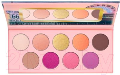 Палетка теней для век Essence Hey L.A. Eyeshadow Palette тон 06 guerlain palette golden bee палетка теней для век