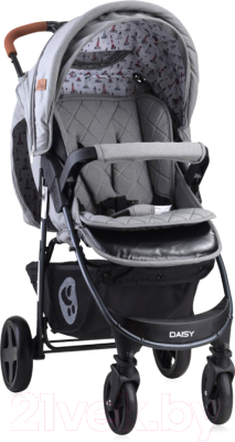 Фото - Детская прогулочная коляска Lorelli Daisy Dark Grey Lighthouse / 10021412056 рюкзак bask mustag 25 grey dark grey