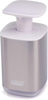 Дозатор жидкого мыла Joseph Joseph Presto Steel 70532 (белый) -