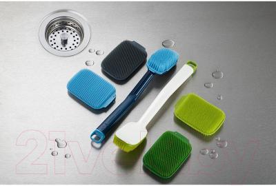 Набор щеток для мытья посуды Joseph Joseph CleanTech 85156 (2шт, зеленый)