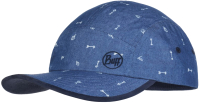 Бейсболка Buff 5 Panels Cap Kids Arrows Denim (120058.788.10.00) -
