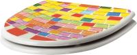 Сиденье для унитаза BranQ Мозаика BQ4000 -