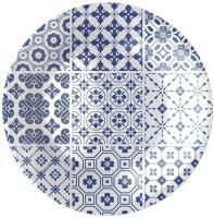 Тарелка столовая мелкая Bormioli Rocco Виетри 430133-442 (синий) -