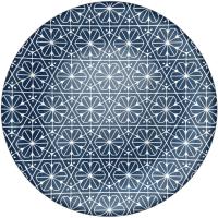Тарелка столовая мелкая Bormioli Rocco Майолика 430133-931 (синий) -