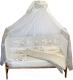 Комплект постельный в кроватку Баю-Бай Ми-ми Мишки / К50-ММ2 (бежевый) -