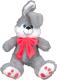 Мягкая игрушка Крошка Кролик с бантом / DN18-0096-25 -