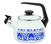 Чайник со свистком Лысьвенские эмали Узбекская пахта С-2711 АПсв/4Рч -