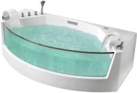 Ванна акриловая Gemy G9079 200x105 (с гидромассажем) -