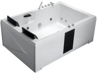 Ванна акриловая Gemy G9061 B R 181x121 (с гидромассажем) -