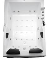 Ванна акриловая Gemy G9061 K L 181x121 (с гидромассажем) -