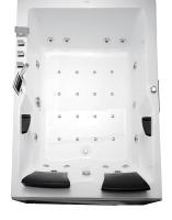 Ванна акриловая Gemy G9061 K R 181x121 (с гидромассажем) -