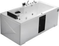 Ванна акриловая Gemy G9066 II K R 171x86 (с гидромассажем) -