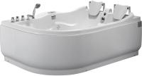 Ванна акриловая Gemy G9083 K R 180x121 (с гидромассажем) -