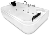 Ванна акриловая Gemy G9085 B L 180x116 (с гидромассажем) -