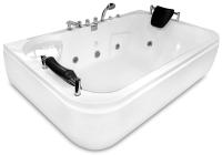 Ванна акриловая Gemy G9085 B R 180x116 (с гидромассажем) -