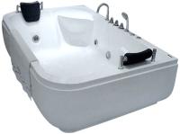Ванна акриловая Gemy G9085 K L 180x116 (с гидромассажем) -